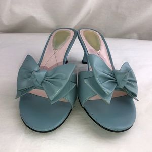 Liz Claiborne flex bow slipper jelly cushion 8.5M